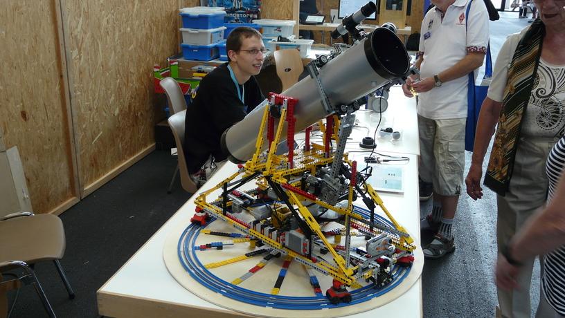 Teleskop aus Lego