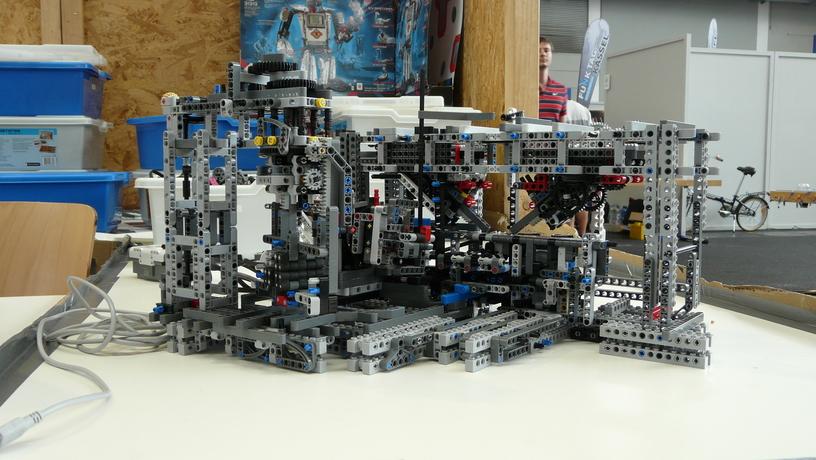 Industrieanlage aus Lego